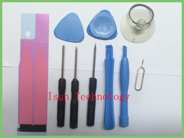 Herramientas de reparación de teléfonos móviles con batería Kit de pegatina Spudger Pry Herramienta de apertura Juego de destornilladores Herramientas de mano