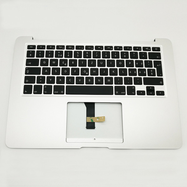 "NEW For macbook Air 13"" A1466 Swiss language Switzerland Topcase keyboard Top Case Palmrest 2013-2015 Years"