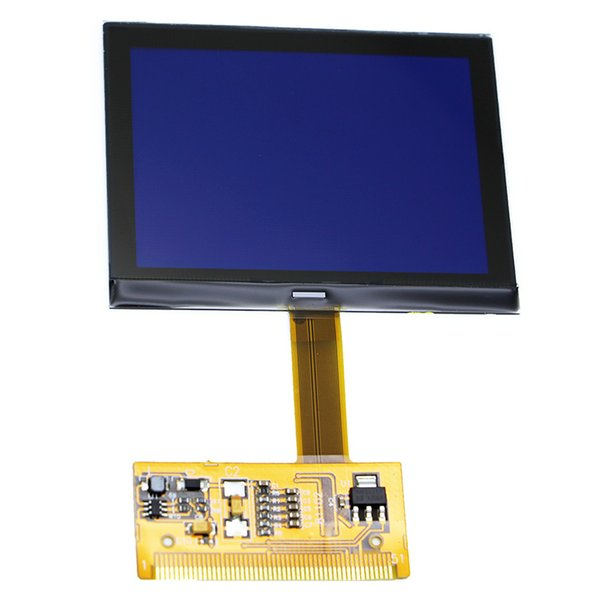 Newest Version LCD Cluster Display For AUDI TT S3 A6 for VW VDO OEM Jeager with Lowest Price