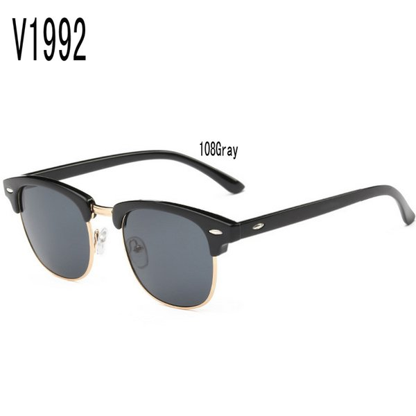 sunglasses for women korea oval face men women case test china colour glass wholesale brand retro Uv protection mens round face with box new