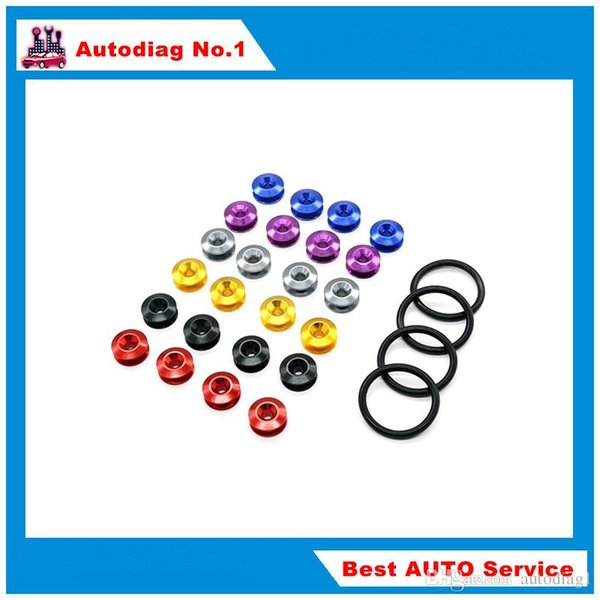 2pcs/lot JDM password Quick Release Fasteners For Car Bumpers Trunk Fender Hatch Lids Kit fashion car styling