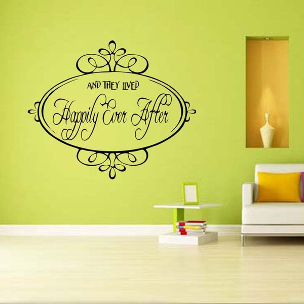 Contemporary And They Lived Happily Ever After Wall Art Inspiration ...