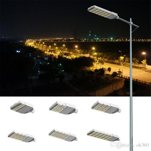 Illuminazione stradale a LED 50w 100w 150w 200w 250w 300w ha condotto la lampada del giardino della via della via principale ha condotto il driver del CE di meanwell ul CE