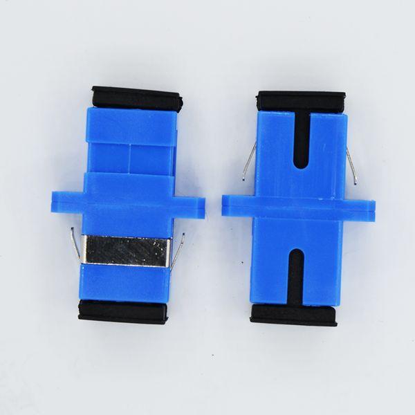 Adaptador de fibra óptica SC / UPC SM SX de plástico