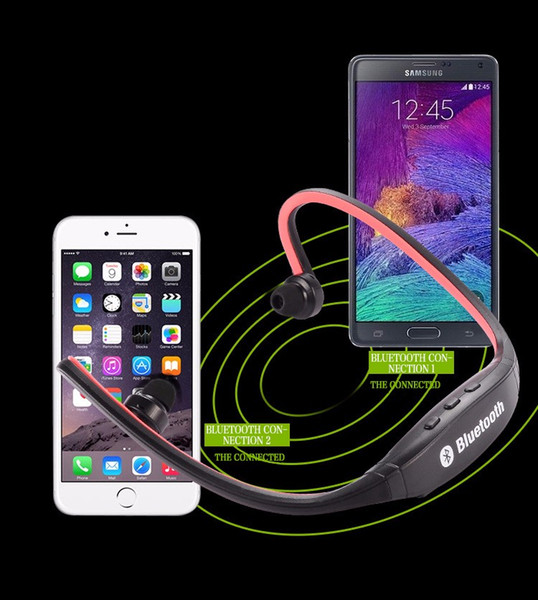 Bluetooth Headphone S9 High Quality Sport Wireless Earphones Headphones Headset For Iphone 7S Plus/ Galaxy S7 iOS Android With Microphone