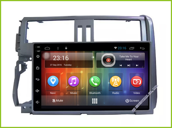 Android 6.0 HD touch screen Car DVD Multimedia GPS For Toyota Prado TX LC 150 2010 2011 2012 2013
