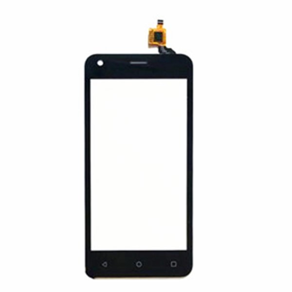 Wholesale- High quality 4.5 inch touchscreen For Fly FS454 nimbus 8 FS 454 touch screen digitizer front glass lens panel sensor replacement