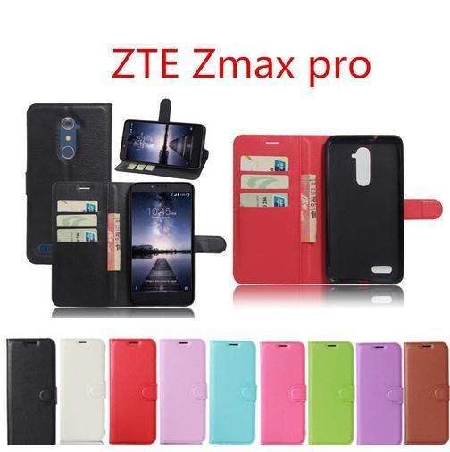 Sıcak Satış Zte Zmax Pro Z981 Kılıf Cüzdan Stil PU Deri Cep Telefonu Koruyucu Arka Kapak Için ZTE Zmax pro vaka 6.0