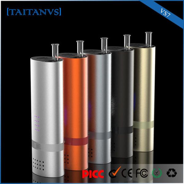 Best dry herb vaporizer portable herbal vape pens starter kit taitanvs7 for tobacco vaporizer free shipping