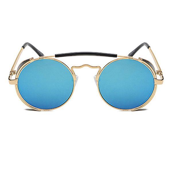 C6 Gold Frame Blue Mirror