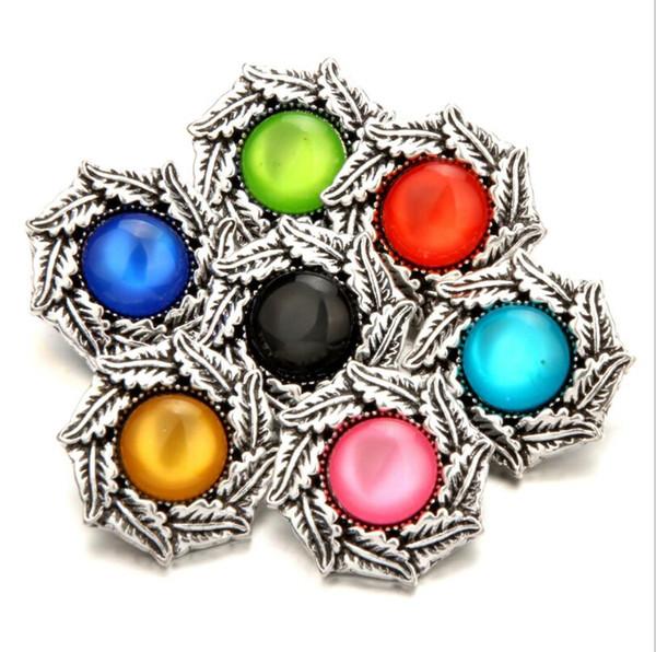 Hot Haute qualité Arbre de Vie Pendentif Fit Snap Bouton Colliers 18 mm pour femmes