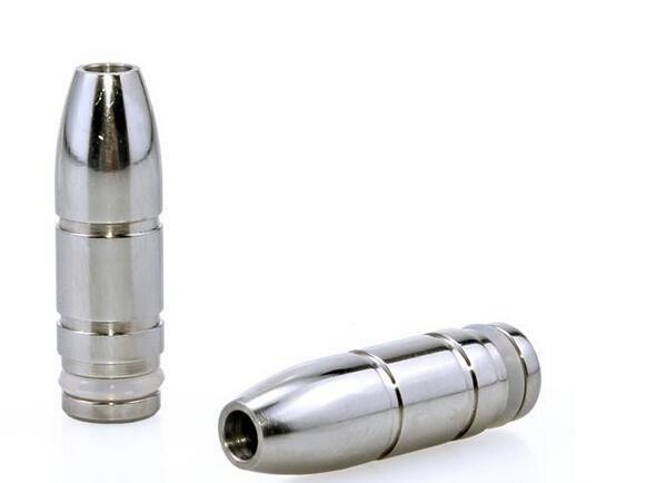 inox ecig Embouchure vape métal forme Bullet goutte à goutte Conseils E-cigarette 510 Astuce goutte à goutte pour EGO E cigarette Vivi Nova TCD 510 réservoir Atomiseur