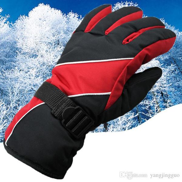 Wholesale men's ski gloves wind rain antiskid warm space cotton gloves Winter package mail