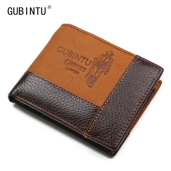 Portafogli uomo in vera pelle Portafoglio breve Portafoglio piccolo Portafoglio vintage di alta qualità con borsa portamonete