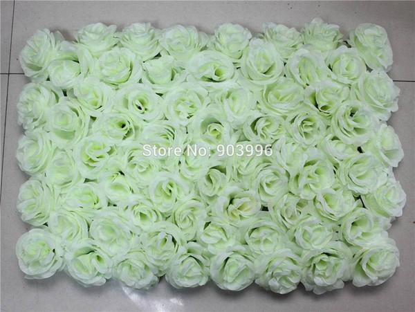 EMS Free pink Shipping 60*40cm Artificial silk rose flower wall wedding background lawn/pillar flower home market decoration