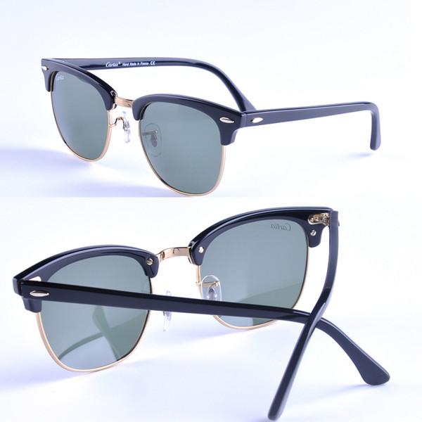 2017 vintage sunglasses women new arrival carfia 51mm plank frame sun glasses men sun glasses brand designer oculos glasses men with box