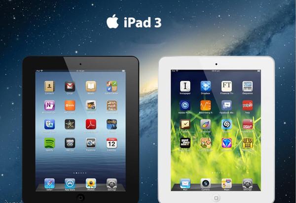 """best selling 1xPcs Refurbished iPad 3 Authentic Apple iPad 3 wifi version Tablets 16GB 32GB 64GB Wifi iPad3 Tablet PC 9.7"""" IOS Refurbished Tablets DHL"""