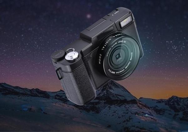 10pcs new 24MP HD Half-DSLR Professional Digital Cameras with 4x Telephoto,Fisheye & Wide Angle Lens Camera Macro HD Camera