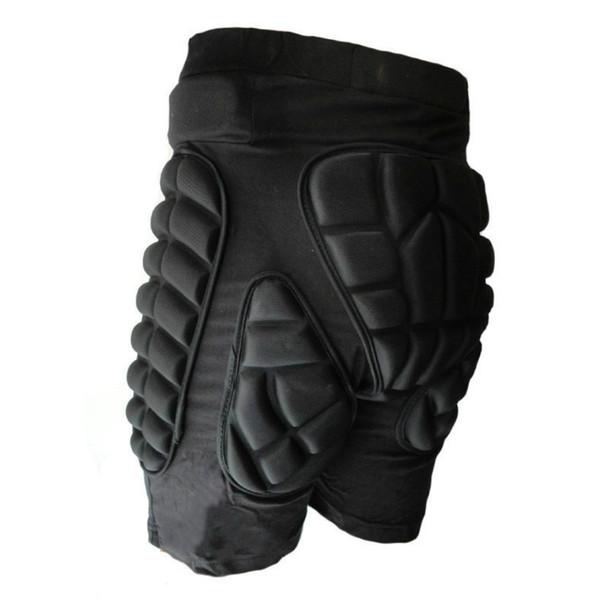 Al por mayor-2017 deportes de esquí pantalones cortos protectora inferior de la cadera acolchada para la nieve del esquí Skate Snowboard Pants rodillo protección de la cadera Pad Sports Gears