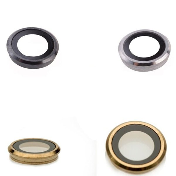 OEM For iPhone 6S 4.7 inch for iPhone 6S Plus 5.5 inch Rear Back Camera Lens Glass Ring Cover Silver Gold Space Grey Replacement Part