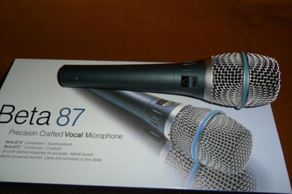 High quality version Beta 87A Beta87A High-Quality! Clear Sound Handheld Karaoke Microphone Mike