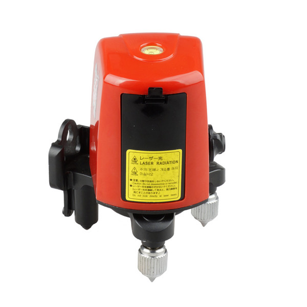 Freeshipping 360degree Self- leveling Cross Laser Level Red 2 Line 1 Point Vertical & Horizontal Lasers with high quality