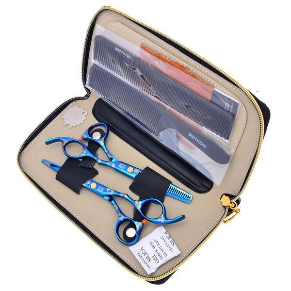 5.5Inch 6.0Inch Sakura JP440C Hair Cutting & Thinning Scissors Hairdressing Scissors Set with Bag Hairdresser Razor Haircut,LZS0096