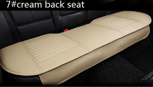 7 # siège arrière en crème