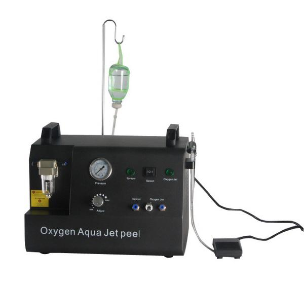 2 in 1 oxygen jet peel oxygen therapy portable oxygen facial machine water peel for skin rejuvenation