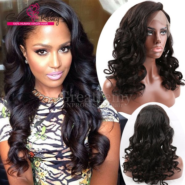 Greatremy® Natural Hairline Brazilian Glueless