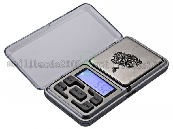 2017 new 200g 0.01g Digital Electronic Jewelry Diamond Pocket Scale with retail box free shipping MYY