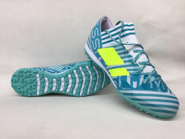 Großhandel 2018 Männer Fußballschuhe Nemeziz Tango 17.3 IC TF Fußballschuhe Innen Weichen Boden Fußballschuhe Billig Nemeziz 17 Rasen Herren Schuhe
