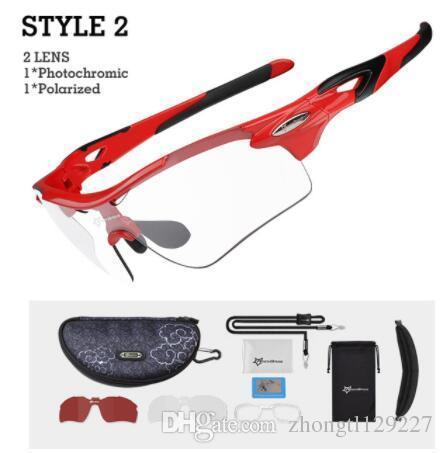 f7cae027350 ROCKBROS Sport Photochromic Polarized Glasses Cycling Eyewear Bicycle Glass  MTB Bike Bicycle Riding Fishing Cycling Sunglasses