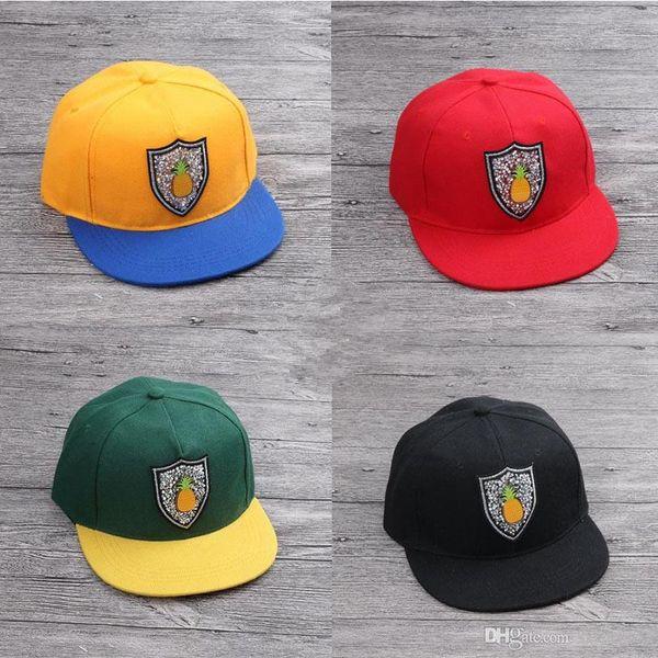 Children Snapbacks Hat Hip Hop Fashion Sunhats Adjustable Hats Boys Girls Caps Kids Ball Caps Top Quality Snapback Caps