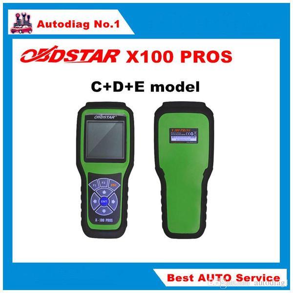 2016 OBDSTAR X100 PROS C + D + E modelo Programador clave con EEprom Adapter + IMMOBILIZER + Ajuste del odómetro Reemplace X-100 Pro