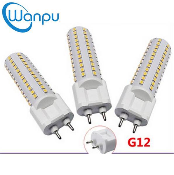 G12 Bombilla LED para luz de maíz SMD2835 Bombillas 10W 108pcs 15W 144PCS LEDS AC85-265V Lámpara de alto brillo Iluminación para interiores