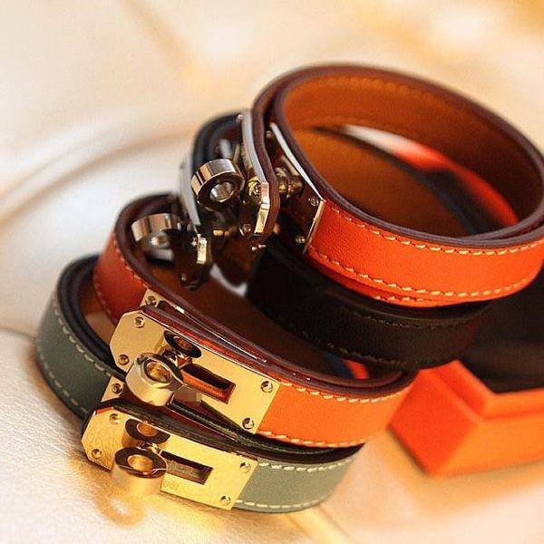 Punk style, Buckle Leather bracelet, Brangle, Locomotive Bracelets Rotary Valentine Day Gift Charms Braided Wrist, free shipping