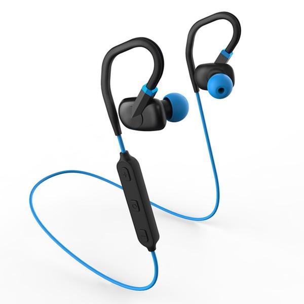 W2 Bluetooth Kulaklıklar Kablosuz Spor Kulaklık V4.1 Stereo Gürültü Azaltma Kulaklık Cep Telefonu için Mikrofon ile