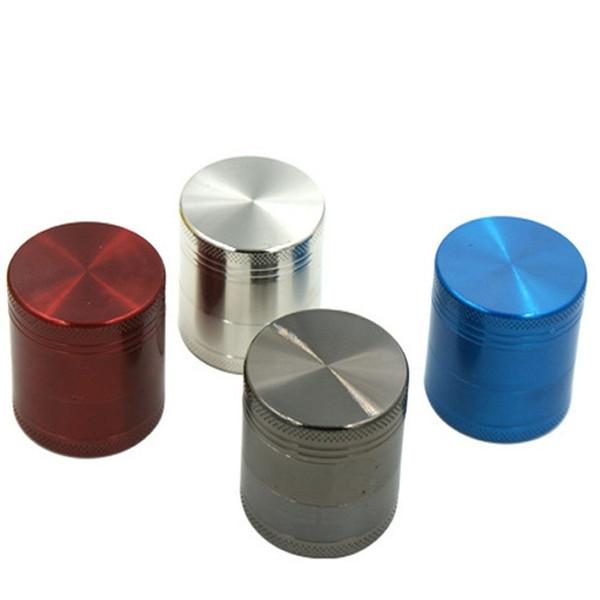 Gros-40mm Nouveaux outils de meulage concave Accessoires pour fumeurs Broyeurs Couvercle Métal Broyeur outil abrasif Accessoires pour fumer A0692