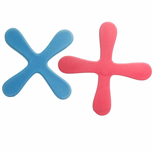 Venda por atacado - Esporte ao ar livre Boomerang Segurança Soft Material Toy Amusing Exercício Físico Pai-filho Movimento Aliviar Pressão Boomerang