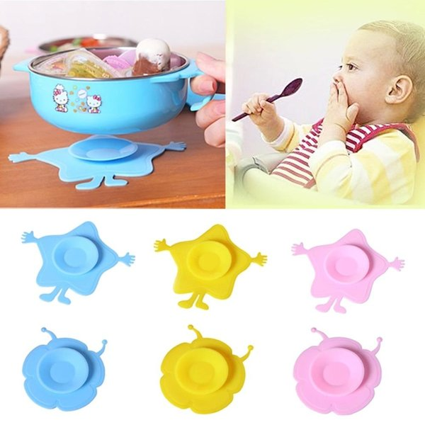 Hot Sale Silicone Pad Baby Children Sucker Antiskid Feeding Bowl Mat Kitchen Tool