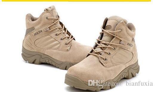 Freies Verschiffen Delta Military Combat Desert Boot Herren Armee Taktische Stiefel Outdoor Militärstiefel Winter Herbst Klettern Wanderschuhe