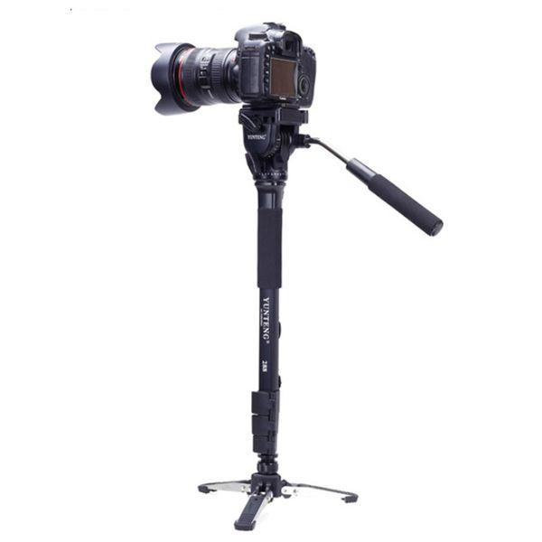 Yunteng VCT-288 Camera Monopod Tripod with Fluid Video Pan Head & Unipod Holder For Canon Nikon DSLR Cameras