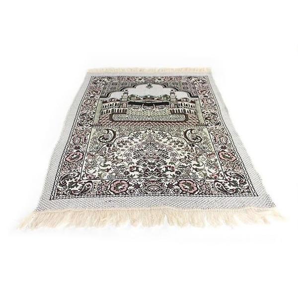 best selling 2017 New Arribal Islamic Muslim Prayer Mat Salat Musallah Prayer Rug Tapis Carpet Tapete Banheiro Islamic Praying Mat 70*110cm ZA2871