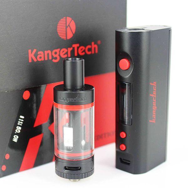 2016 kanger subox mini Kit com kanger topbox kit nano starter Atomizador 50 W Kbox projeto kanger subox nano DHL livre
