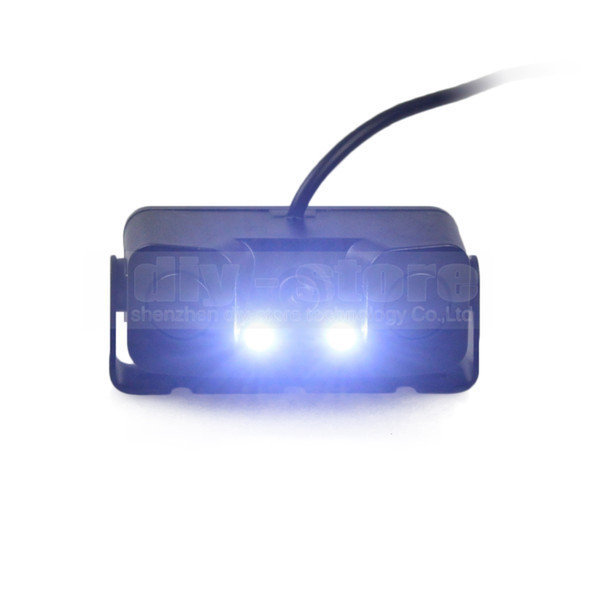 Waterproof Packing Radar Sensor Car Reverse LED Night Vision Rear View Car Camera Wide Angle for Parking Assistance Kit