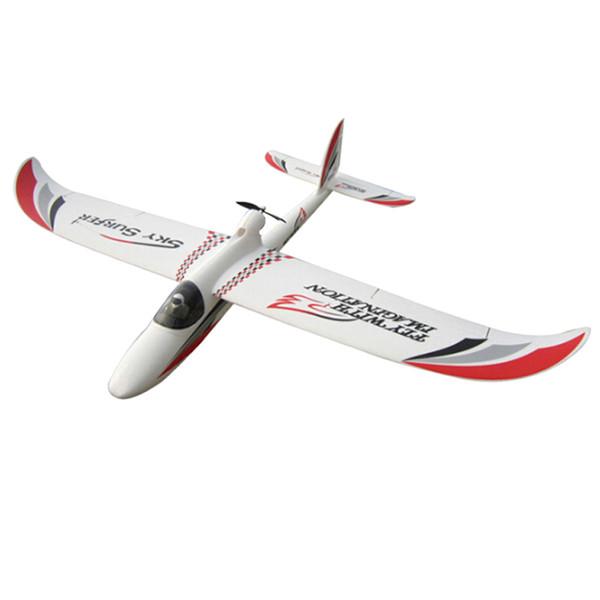 Wholesale- 2000mm skysurfer 2.4Ghz 6CH Radios airplane kit frame remote control RC Glider radio control plane EPO model hobby Glider