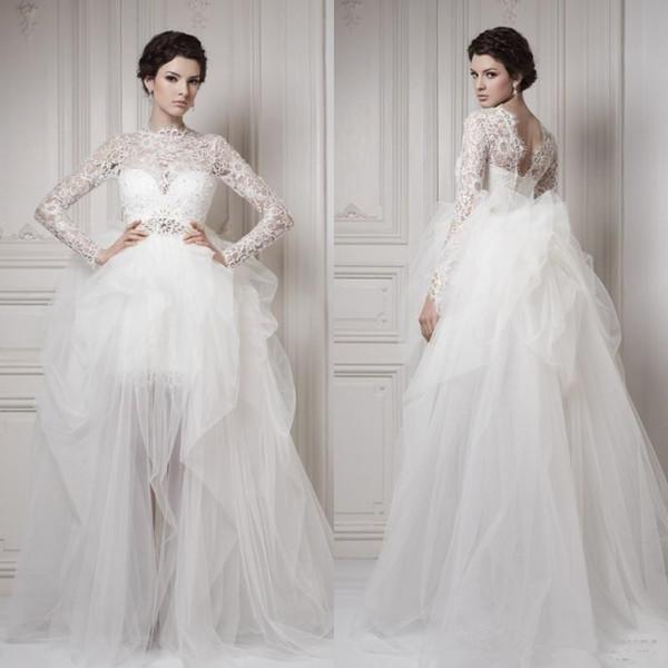 Vestido De Novia Long Sleeve Wedding Dresses 2017 New Arabic Dubai ...