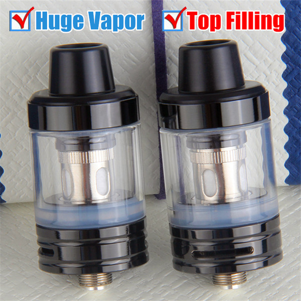 Original Top Refilling TVR K1Tank with Delrin Drip Tip 2ML e-Juice Capacity Huge Vapor VS Cute Baby TFV8 Atomizer
