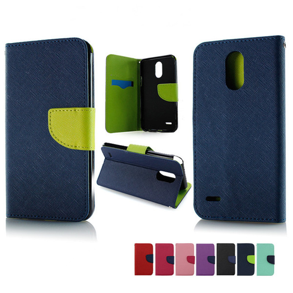 Wallet case For iphone X galaxy note 8 For Alcatel A30 Fierce Metropcs For ZTE Blade Z Max metropcs Zmax Pro 2 Z982